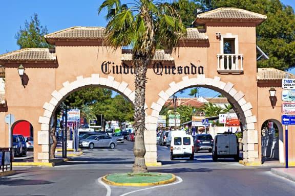 Entrance of Ciudad Quesada